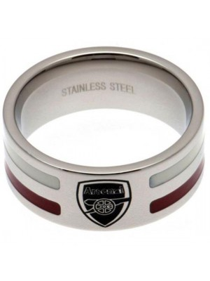 Arsenal FC Colour Stripe Ring Small