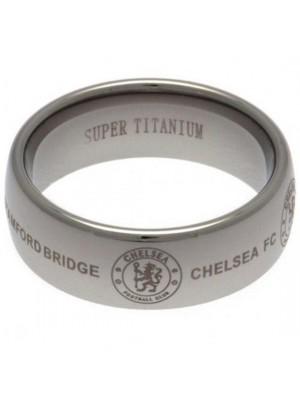Chelsea FC Super Titanium Ring Small