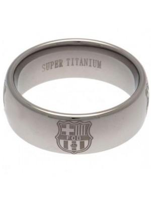 FC Barcelona Super Titanium Ring Large