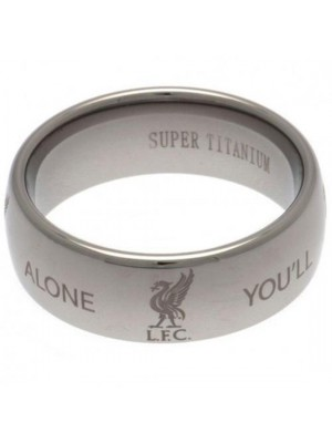Liverpool FC Super Titanium Ring Medium
