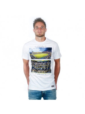 La Bombonera T-Shirt - White 100% cotton