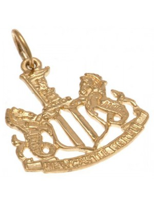 Newcastle United FC 9ct Gold Pendant