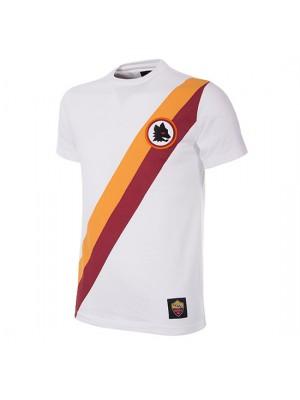 AS Roma Away Retro T-Shirt | White