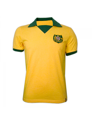 Copa Australia Wc 1974 Short Sleeve Retro Shirt