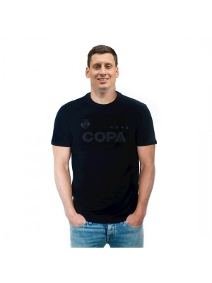 Copa All Black Logo T-shirt