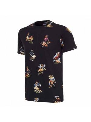 Calcio Donna T-Shirt Black