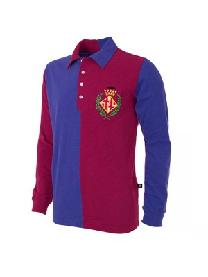 FC Barcelona 1899 Long Sleeve Retro Football Shirt