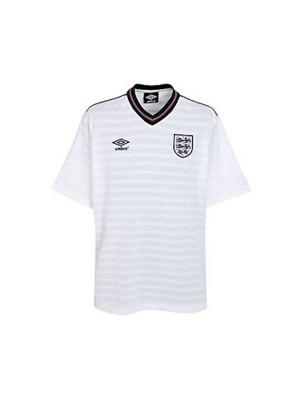 England 1986 world cup retro football jersey