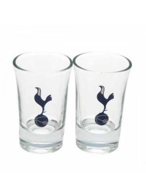 Tottenham Hotspur FC 2pk Shot Glass Set