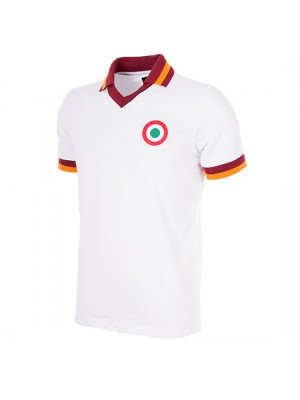 AS Roma Away 1980-81 Short Sleeve Retro Football Shirt