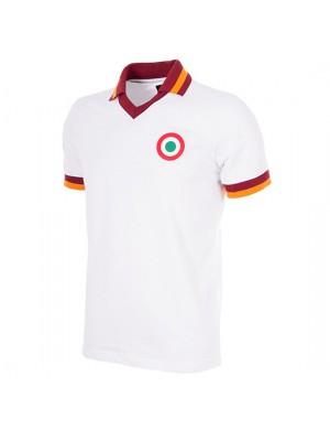 AS Roma Away 1980-81 Short Sleeve Retro Football Shirt