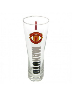 Manchester United FC Tall Beer Glass