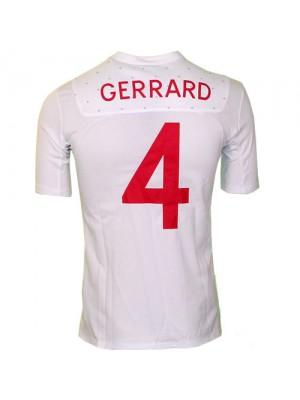 England home jersey 2010 Gerrard 4