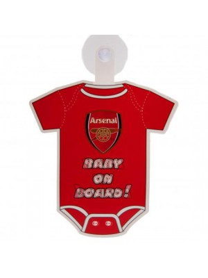 Arsenal FC Baby On Board Sign