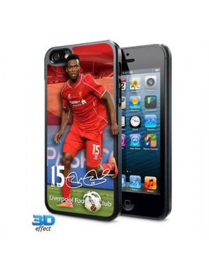 Liverpool FC iPhone 5 / 5S / 5SE Hard Case 3D Sturridge