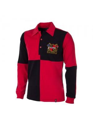 Sheffield FC 1950's Long Sleeve Retro Shirt 100% cotton