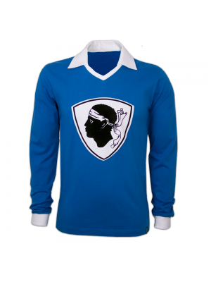 Copa Bastia 1977/78 Long Sleeve Retro Shirt