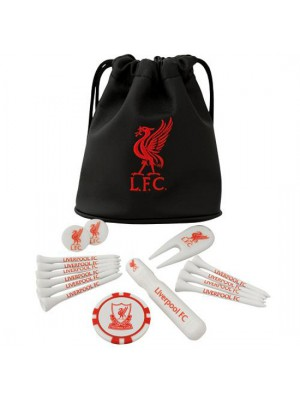 Liverpool FC Tote Bag Golf Gift Set