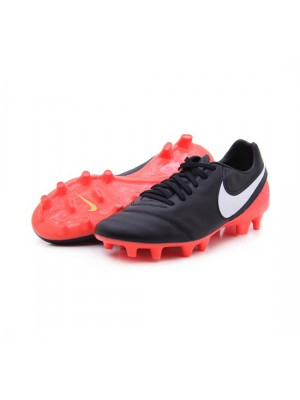 Tiempo Mystic V FG - black - orange