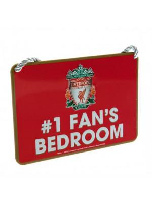 Liverpool FC Bedroom Sign No1 Fan