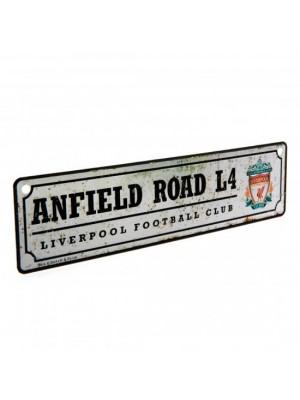 Liverpool FC Retro Window Sign