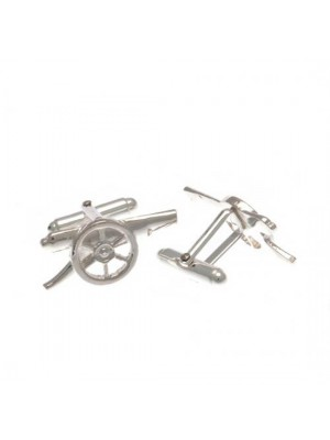 Arsenal FC Sterling Silver Cufflinks GN