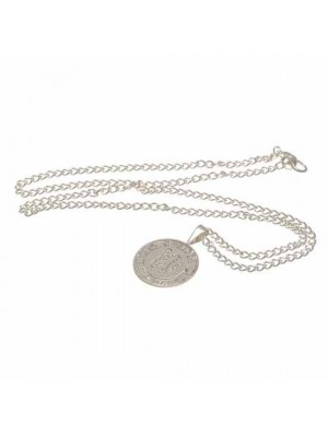 Chelsea FC Silver Plated Pendant & Chain XL