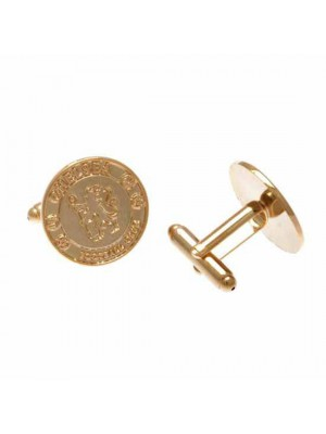 Chelsea FC Gold Plated Cufflinks