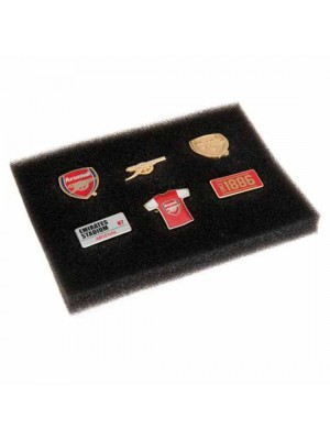 Arsenal FC 6 Piece Badge Set