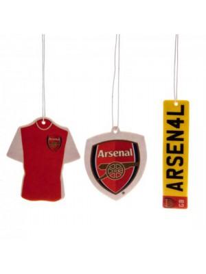 Arsenal Fc 3 Pack Air Freshener