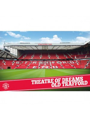 Manchester United FC Poster Stadium 17