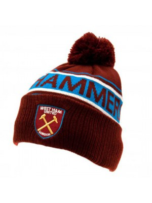 West Ham United FC Ski Hat TX