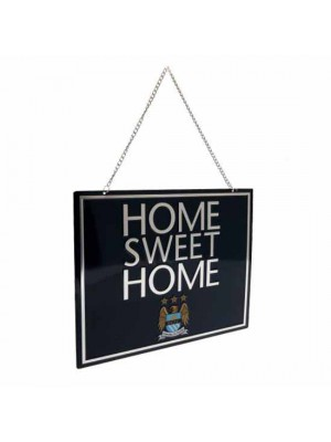 Manchester City FC Home Sweet Home Sign EC