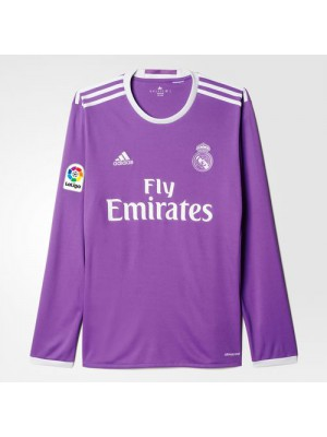 Real Madrid away jersey Long Sleeve - youth