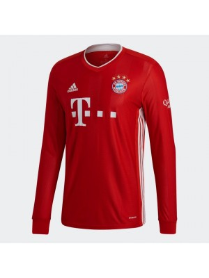 Bayern Munich home jersey Long Sleeve 2020/21