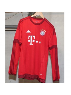 Bayern 15/16 home jersey Long Sleeve