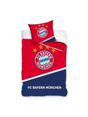 Bayern duvet red - navy