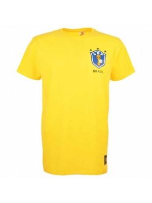 Brazil 12th Man T-Shirt - Yellow