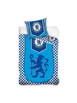 Chelsea duvet set - blue lion