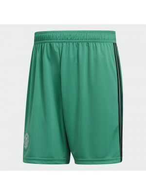 Man Utd goalie shorts - green