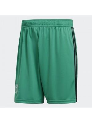 Man Utd goalie shorts - green