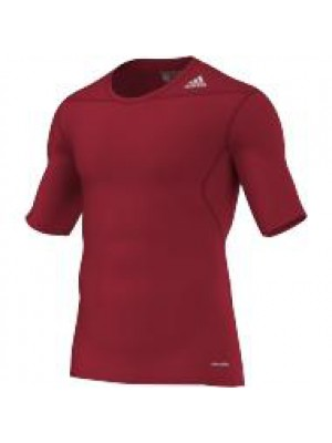 TF base layer short sleeve - red