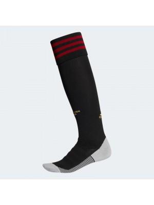 Man Utd home socks - mens , boys