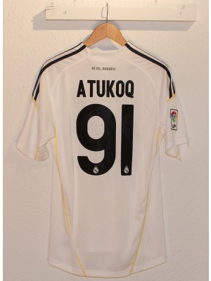 Real Madrid home kit 09/10 - Atukoq 91