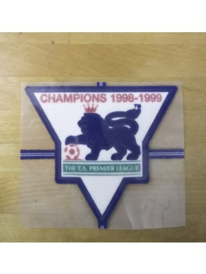 EPL Champions badge 1998-1999 - player's