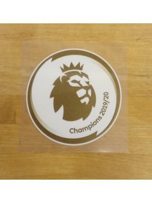 EPL Champions badge 19/20