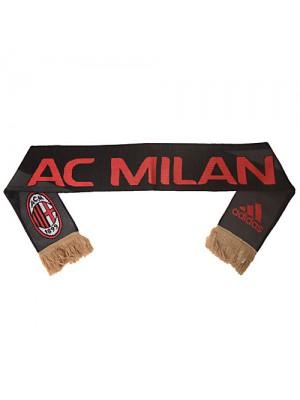 Adidas AC Milan 3 stripe Scarf Black 13/14
