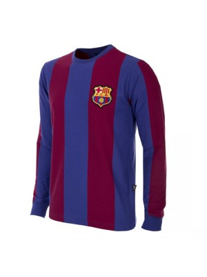 FC Barcelona 1973/74 Long Sleeve Retro Football Shirt