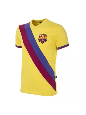FC Barcelona Away 1978/79 Short Sleeve Retro Football Shirt