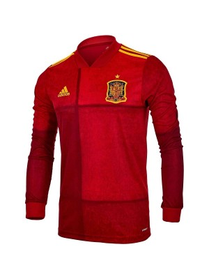 Spain home jersey Long Sleeve